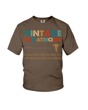 Vintage Geriatrician Knows More Than He Says Youth T-Shirt thumbnail