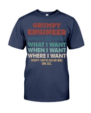 Vintage Grumpy Engineer Do What I Want Premium Fit Mens Tee thumbnail