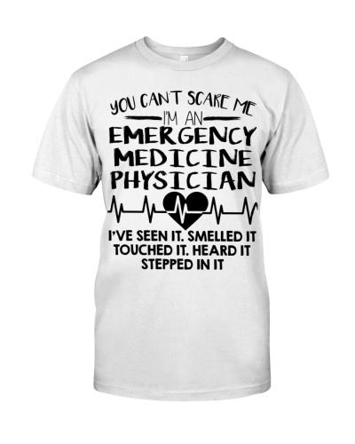 Emergency Medicine Physician You Can't Scare Me