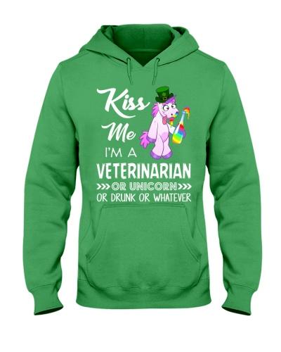 Kiss Me I'm Veterinarian Or Unicorn