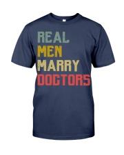 Real Men Marry Doctors Premium Fit Mens Tee thumbnail
