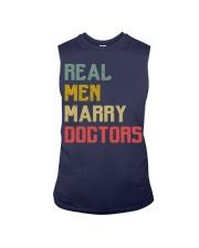 Real Men Marry Doctors Sleeveless Tee thumbnail