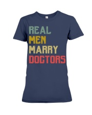 Real Men Marry Doctors Premium Fit Ladies Tee thumbnail