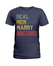 Real Men Marry Doctors Ladies T-Shirt thumbnail