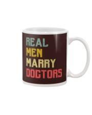Real Men Marry Doctors Mug thumbnail