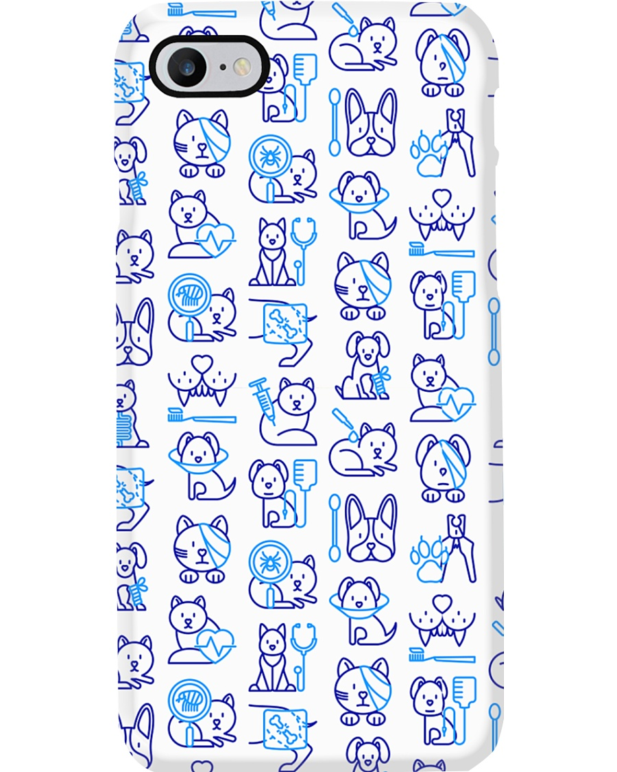 Veterinary Pattern Phone Case