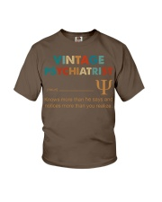 Vintage Psychiatrist Knows More Than He Says Youth T-Shirt thumbnail