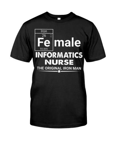 Informatics Nurse Female