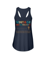 Vintage Neonatologist Knows More Than She Says Ladies Flowy Tank thumbnail