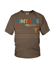 Vintage Neonatologist Knows More Than She Says Youth T-Shirt thumbnail