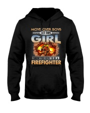 Let This Girl Show You Firefighter Hooded Sweatshirt front