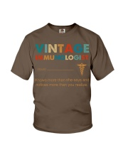 Vintage Immunologist Knows More Than She Says Youth T-Shirt thumbnail