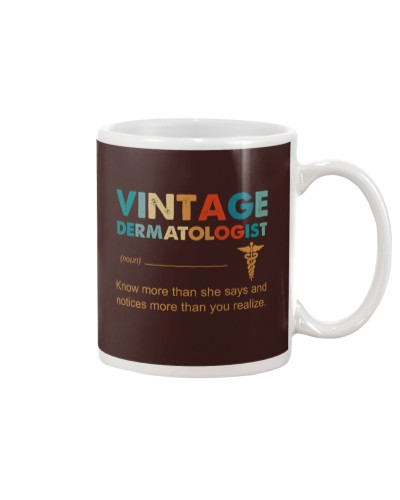 Vintage Dermatologist Know More Than She Says