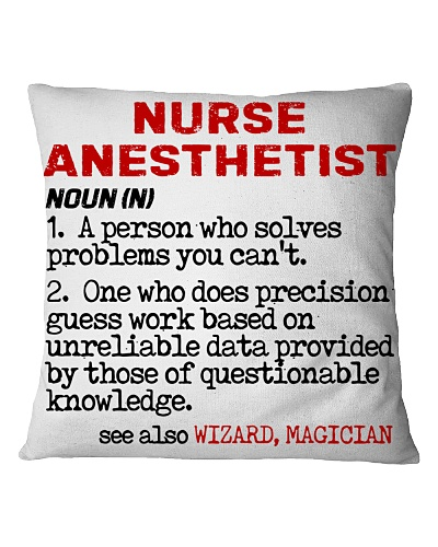 Nurse Anesthetist Noun