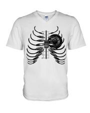 Sound Bone V-Neck T-Shirt thumbnail
