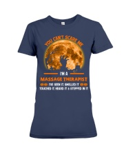 You Can't Scare Me Massage Therapist Premium Fit Ladies Tee thumbnail