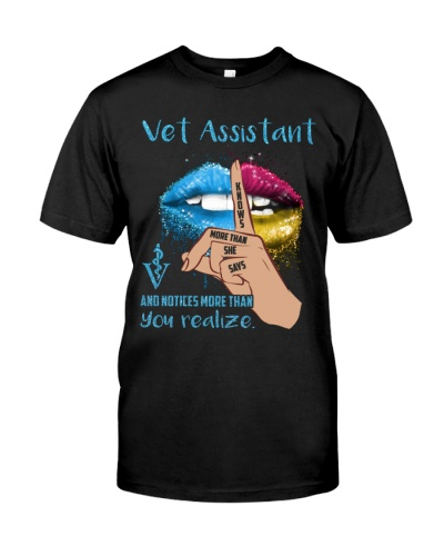 Vet Assistant Knows More