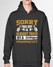 Sorry This Guy Taken By Pharmacist Hooded Sweatshirt garment-hooded-sweatshirt-front-04