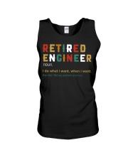 Retired Engineer I Do What I Want Unisex Tank thumbnail