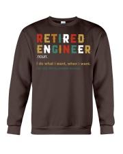 Retired Engineer I Do What I Want Crewneck Sweatshirt thumbnail