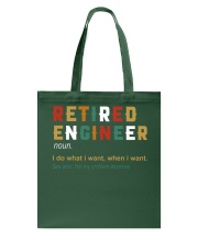 Retired Engineer I Do What I Want Tote Bag thumbnail
