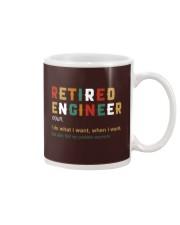 Retired Engineer I Do What I Want Mug thumbnail