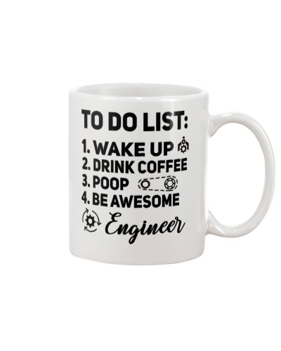 Drink Coffee Be Awesome Engineer