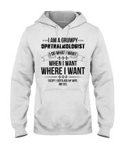 I Am A Grumpy Ophthalmologist Hooded Sweatshirt thumbnail