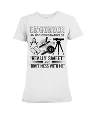 Engineer An Odd Combination Of Really Sweet Premium Fit Ladies Tee thumbnail