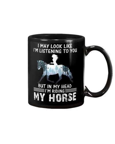 I May Look Like I'm Listening To You Horse
