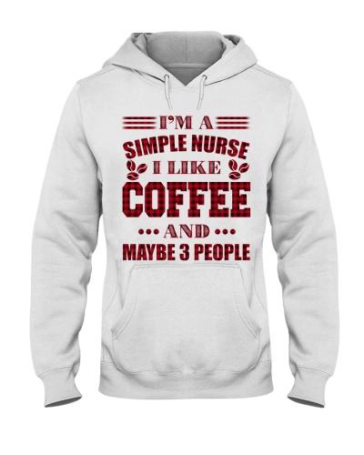 I'm A Simple Nurse I Like Coffee