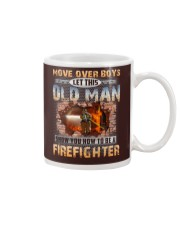 Let This Old Man Show You Firefighter Mug tile