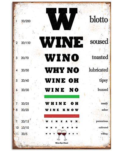Wino Eye Chart