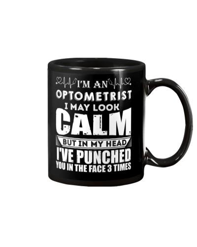 I'm An Optometrist I May Look Calm