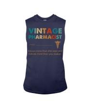 Vintage Pharmacist Knows More Than She Says Sleeveless Tee thumbnail