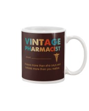 Vintage Pharmacist Knows More Than She Says Mug thumbnail