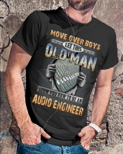 Old Man Shows You Audio Engineer Classic T-Shirt lifestyle-mens-crewneck-front-4