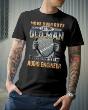 Old Man Shows You Audio Engineer Classic T-Shirt lifestyle-mens-crewneck-front-6