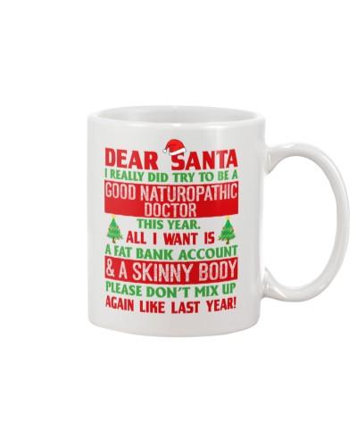 Dear Santa Good Naturopathic Doctor