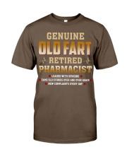 Old Fart Retired Pharmacist Classic T-Shirt thumbnail