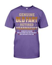 Old Fart Retired Pharmacist Premium Fit Mens Tee thumbnail