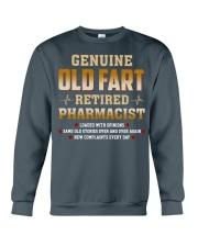 Old Fart Retired Pharmacist Crewneck Sweatshirt thumbnail