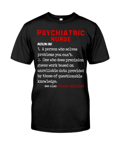 Psychiatric Nurse Define