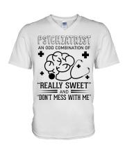Psychiatrist An Odd Combination Of Really Sweet V-Neck T-Shirt thumbnail