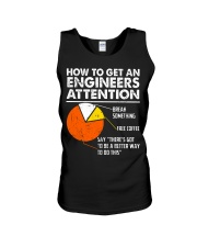 How To Get Engineers Attention Unisex Tank thumbnail