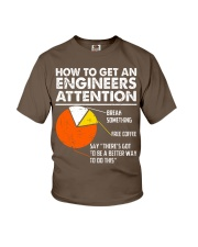 How To Get Engineers Attention Youth T-Shirt thumbnail