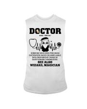 Doctor Noun See Also Wizard Magician Sleeveless Tee thumbnail