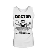 Doctor Noun See Also Wizard Magician Unisex Tank thumbnail