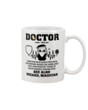 Doctor Noun See Also Wizard Magician Mug thumbnail