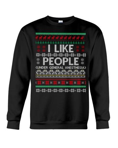 I Like People Ugly Sweater